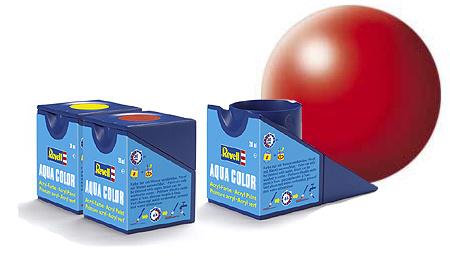 Revell Aqua Luminous Red Silk - 18ml - Revell - RV36332