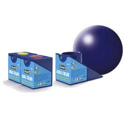 Aqua Dark Blue Silk - 18ml - Revell - RV36350