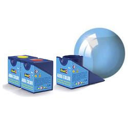 Aqua Blue Clear - 18ml - Revell - RV36752