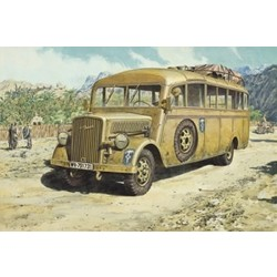 Opel Blitz Omnibus Model W.39 Ludewig-Bu  - Scale 1/72 - Roden - RON721