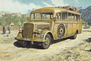 Roden Opel Blitz Omnibus Model W.39 Ludewig-Bu  - Scale 1/72 - Roden - RON721