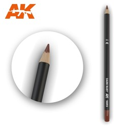 Watercolor Pencil Dark Rust - AK-Interactive - AK-10013