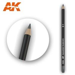 Watercolor Pencil Gun Metal (Graphite) - AK-Interactive - AK-10018