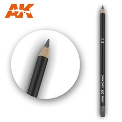 Watercolor Pencil Dark Grey - AK-Interactive - AK-10024