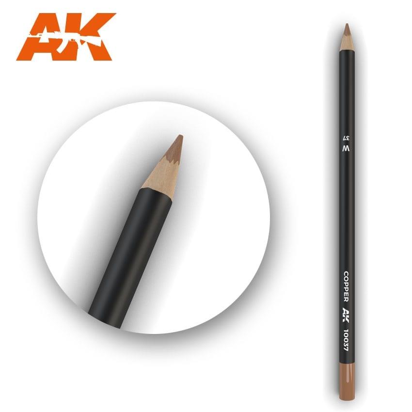 AK-Interactive Watercolor Pencil Copper - AK-Interactive - AK-10037