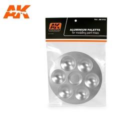 Aluminum Pallet 6 Wells - AK-Interactive - AK-612