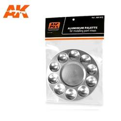 Aluminum Pallet 10 Wells - AK-Interactive - AK-613