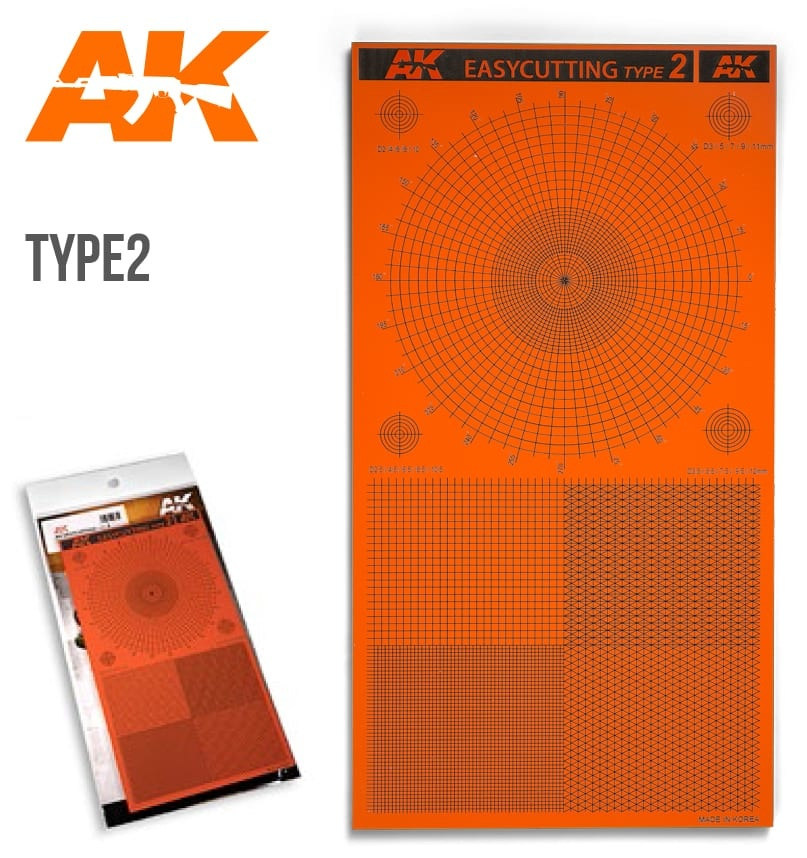 AK-Interactive Easycutting Board Type 2 - AK-Interactive - AK-8057