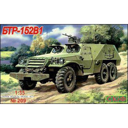 Btr 152 V 1 Armoured Troop Carrier  - Scale 1/35 - Skif - SKF MK209