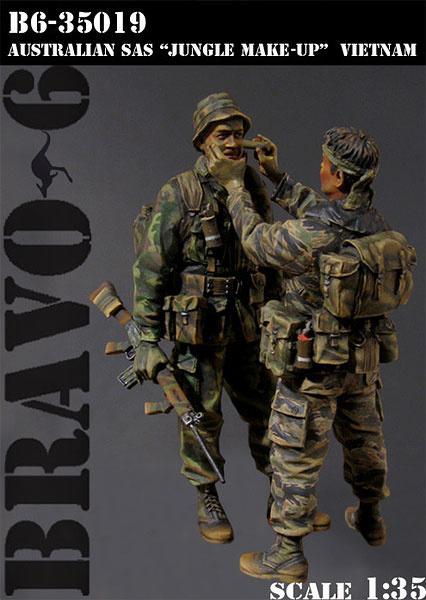 Bravo 6 Australian Sas -Jungle Make Up- Vietnam 68 - Scale 1/35 - Bravo 6 - B6-35019