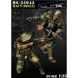 Macv-Sog (1) - Scale 1/35 - Bravo 6 - B6-35043