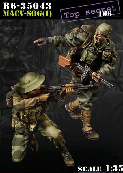 Bravo 6 Macv-Sog (1) - Scale 1/35 - Bravo 6 - B6-35043