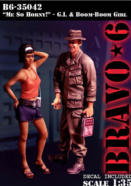 Bravo 6 -Me So Horny!- - Scale 1/35 - Bravo 6 - B6-35042