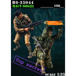 Macv-Sog (2) - Scale 1/35 - Bravo 6 - B6-35044
