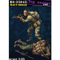 Macv-Sog (3) - Scale 1/35 - Bravo 6 - B6-35045