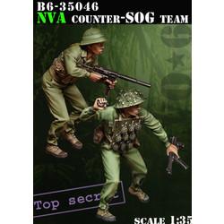 Nva Counter-Recon Team - Scale 1/35 - Bravo 6 - B6-35046
