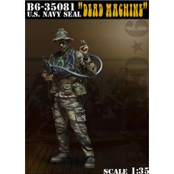 U.S. Navy Seal -Dead Machine- - Scale 1/35 - Bravo 6 - B6-35081