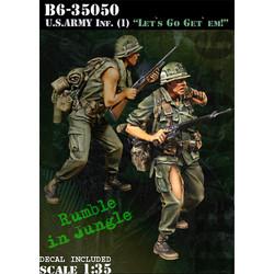 Us Army Infantry (1) Let`S Go Get` Em! - Scale 1/35 - Bravo 6 - B6-35050