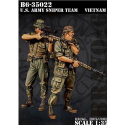 Us Army Sniper Team - Scale 1/35 - Bravo 6 - B6-35022