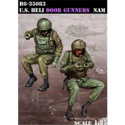 Us Heli Door Gunners - Scale 1/35 - Bravo 6 - B6-35083
