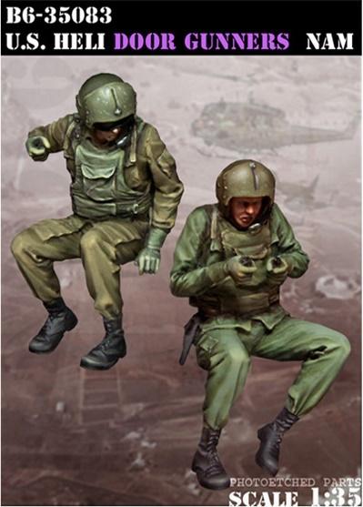 Bravo 6 Us Heli Door Gunners - Scale 1/35 - Bravo 6 - B6-35083