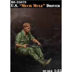 Us Mech Mule Driver - Scale 1/35 - Bravo 6 - B6-35079