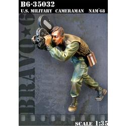 Us Military Cameraman Nam`68 - Scale 1/35 - Bravo 6 - B6-35032