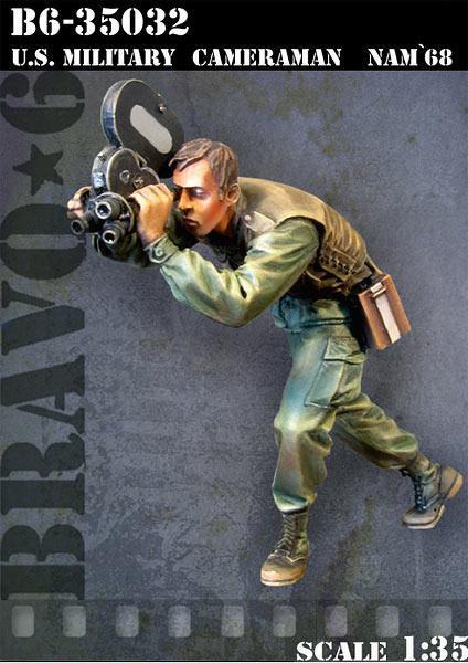 Bravo 6 Us Military Cameraman Nam`68 - Scale 1/35 - Bravo 6 - B6-35032