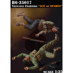 Vietcong Fighters -Ace Of Spades- - Scale 1/35 - Bravo 6 - B6-35017