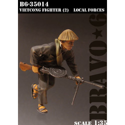 Vietkong Fighter (2), Local Forces - Scale 1/35 - Bravo 6 - B6-35014