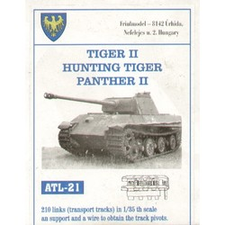 Tiger II / Hunting Tiger / Panther II - Scale 1/35 - Friul Model - FRO ATL-35021