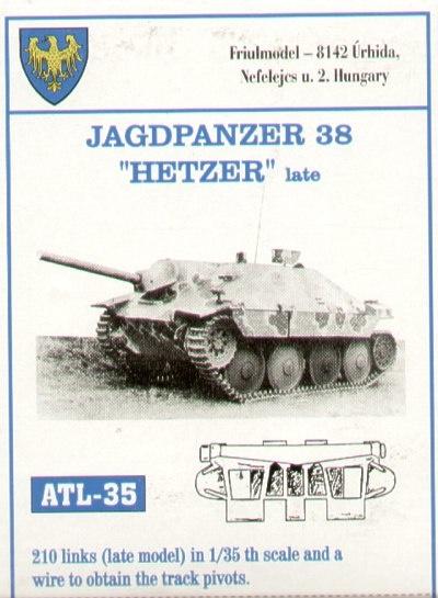 Friul Model Jagdpanzer 38 - Scale 1/35 - Friul Model - FRO ATL-35035