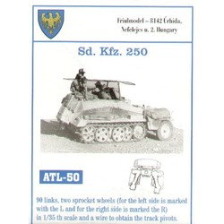 Sd Kfz. 250 - Scale 1/35 - Friul Model - FRO ATL-35050
