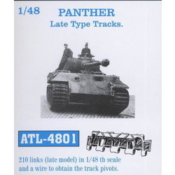 Panther Late Type Track Link - Scale 1/48 - Friul Model - FRO ATL-4801
