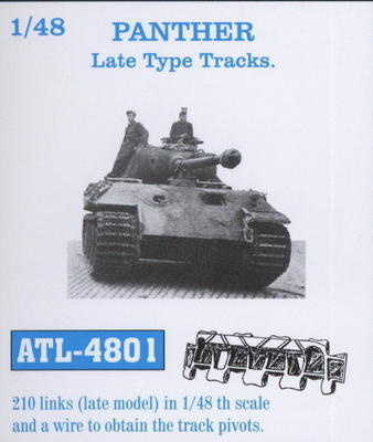Friul Model Panther Late Type Track Link - Scale 1/48 - Friul Model - FRO ATL-4801