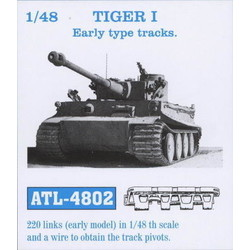 Tiger I Early Type Track Link - Scale 1/48 - Friul Model - FRO ATL-4802