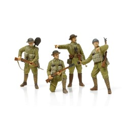 British Infantry - With Small Arms & Equipment - Scale 1/35 - Tamiya - TAM32409