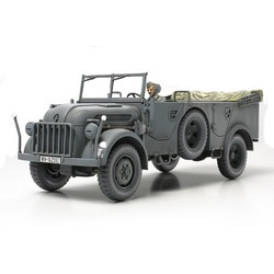 German Steyr Type 1500A/01 Military Vehicle - Scale 1/48 - Tamiya - TAM32549