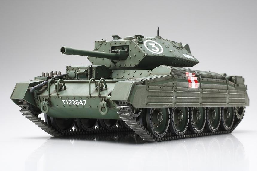 Tamiya British Crusader Mk III/VI Cruiser Tank - Scale 1/48 - Tamiya - TAM32555