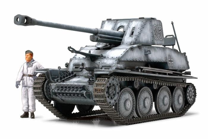 Tamiya German Tank Destroyer Marder III - Scale 1/48 - Tamiya - TAM32560
