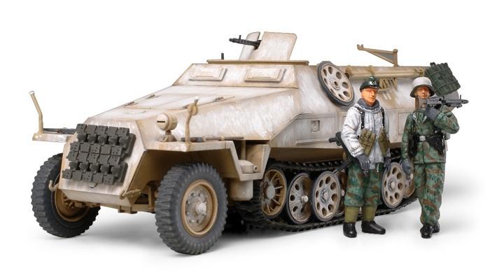 Tamiya Mtl.Spw.Sd.Kfz 251/1 Ausf.D - Scale 1/48 - Tamiya - TAM32564