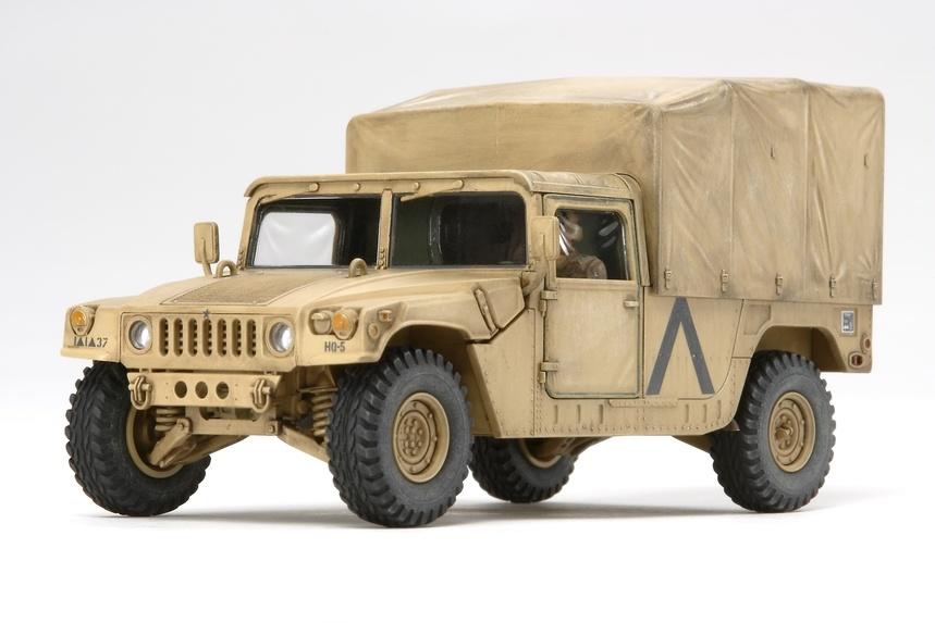 Tamiya U.S. Modern 4X4 Utility Vehicle Cargo Type - Scale 1/48 - Tamiya - TAM32563