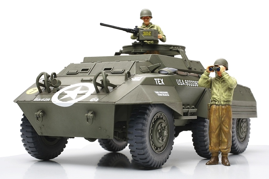 Tamiya Us M20 Armored Utility Vehicle - Scale 1/48 - Tamiya - TAM32556