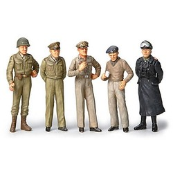 WWII Famous General Figures (5) - Scale 1/48 - Tamiya - TAM32557