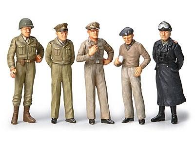 Tamiya WWII Famous General Figures (5) - Scale 1/48 - Tamiya - TAM32557