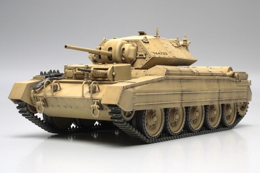 Tamiya British Crusader Mk I/II Cruiser Tank - Scale 1/48 - Tamiya - TAM32541