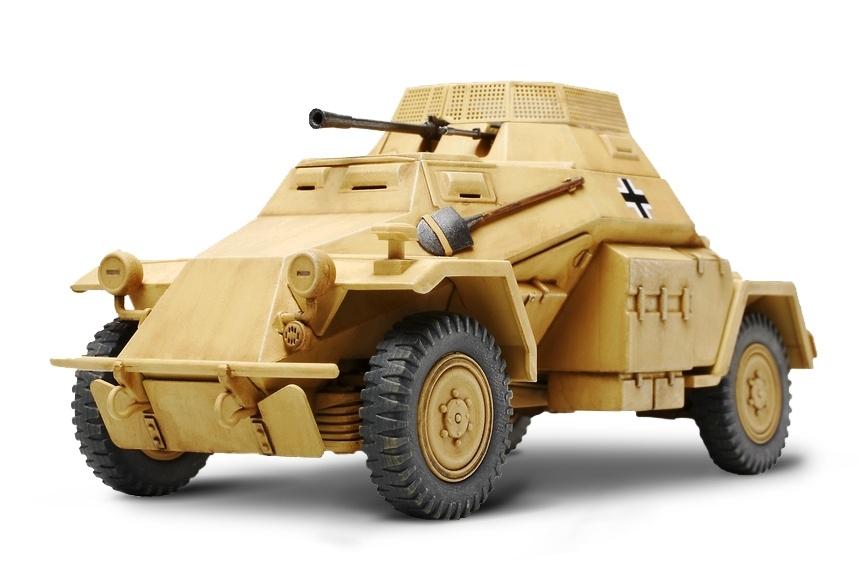 Tamiya German Armored Car Sd.Kfz.222 - Scale 1/35 - Tamiya - TAM89777