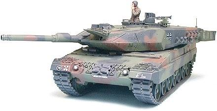 Tamiya Leopard 2 A5 Main Battle Tank - Scale 1/35 - Tamiya - TAM35242