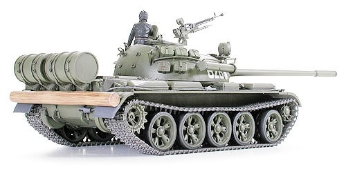 Tamiya Russian Medium Tank T-55A - Scale 1/35 - Tamiya - TAM35257