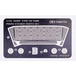 Jgsdf Type 90 Tank Photo-Etched Parts Set - Scale 1/35 - Tamiya - TAM35278